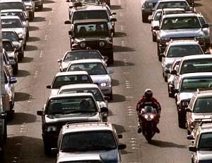 Lane Splitting Tip: Choosing the right lane to start splitting